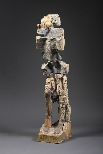 stephen-de-staebler-ceramic-clay-figure-2008