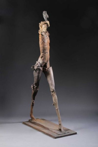 stephen-de-staebler-ceramic-bronze-figure-2010